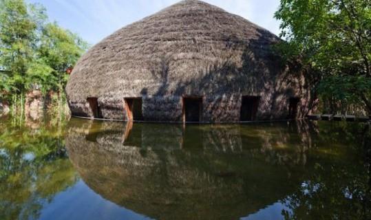 Бамбуковый бар без единого гвоздя