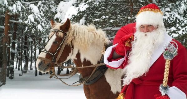 Откуда Дед Мороз